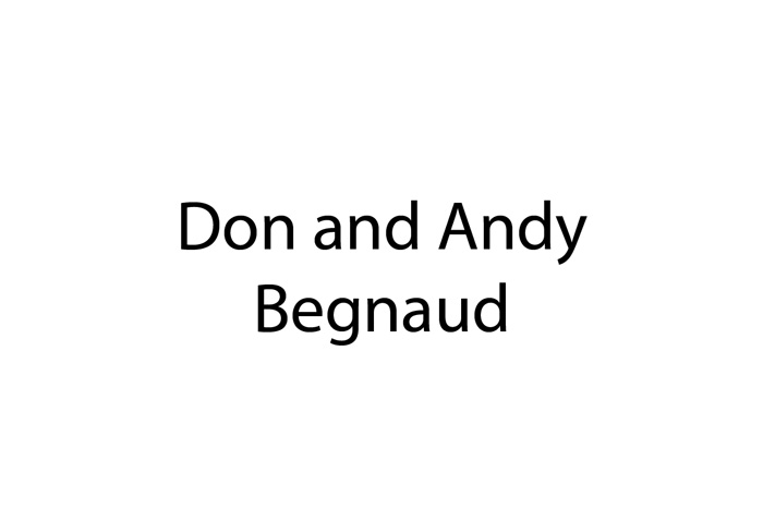 Don and Andy Begneaud