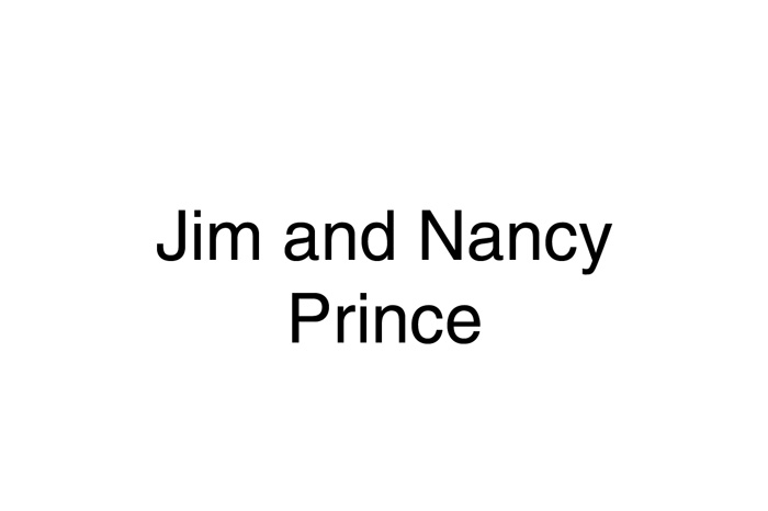 Jim & Nancy Prince